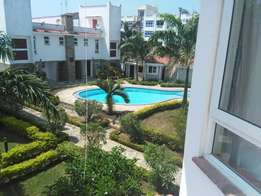 Luxurious 3 bedroom beach side fully furnished apartment with Swimming