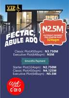 Plots of land at FESTAC ABULE-ADO ,,known as 9th avenue Festac extn