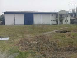 C of OWarehouse with offices for sale off Trans Amadi road