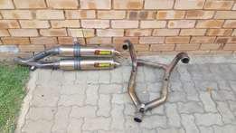 Akropoviic pipe for aircooled gs 1200 std or adventure .