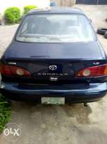 Clean Nigerian used 2001 Toyota Corolla for sale