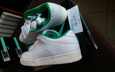 Ben G x Nike SB Dunk Low WHITEWHITE LUCID GREEN SAIL 41, 42