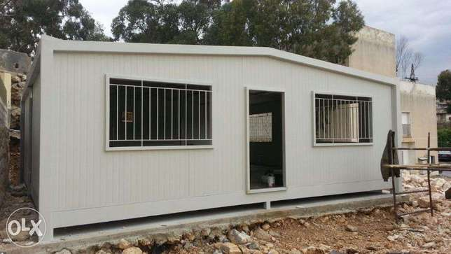 prefab house 36 m (6m x6m) 2 bedrooms with 2 bathrooms only 9500 $$$$$