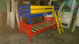 Bunk Bed Painted Colours