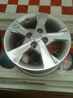Toyota alloy wheels in 14 inch brand new.