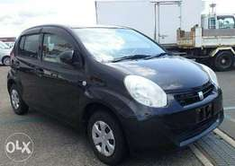 Black KCP passo 2010 car on sale