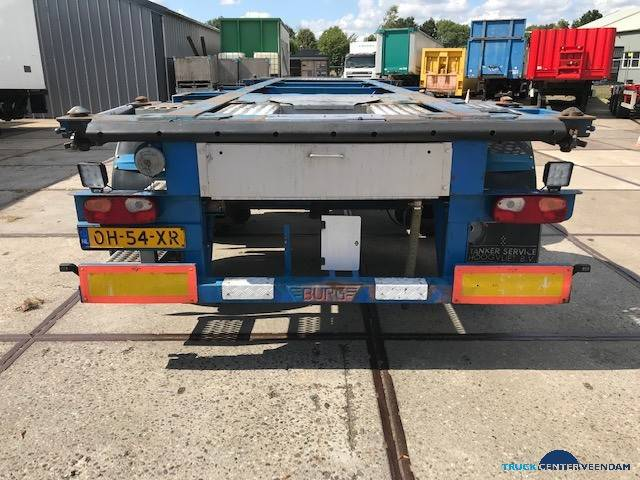 Burg 20 ft ADR containerchassis- 2x liftas BPO 12-27 CCXAX - 2005 - image 2