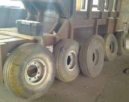 6 trailer / farming equipment / machinery general rims and tyres