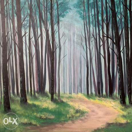 """""""Forest"""" painting"""