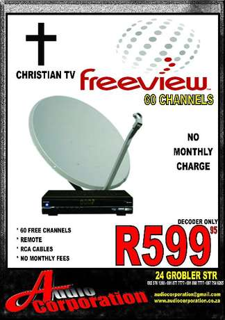 Audio Corp: 60 + Channels No Monthly Cost Polokwane - image 1