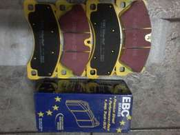 Front pads for Porsche Cayenne