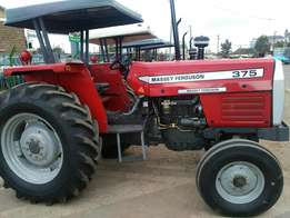 High quality tractor MF375 with 75 Hp and high PTO power.