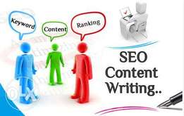 Content writing, creative writing