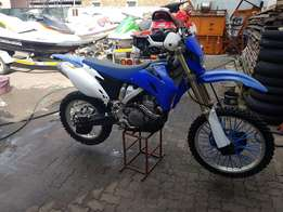 Yamaha WR250F 2007 for sale