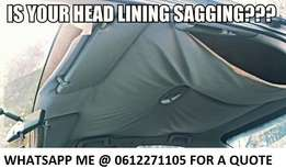 Toyota Sagging roof lining?