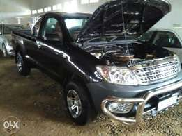 Hilux converted to 302 5.0 V8