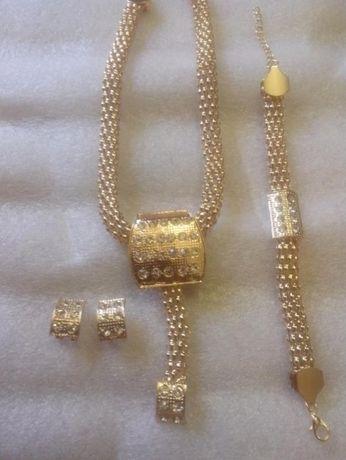 0ac0e59706dd3c Duży komplet biżuterii Kolia,bransoletka,kolczyki ,pierścionek Tanio !  Białystok - image 4