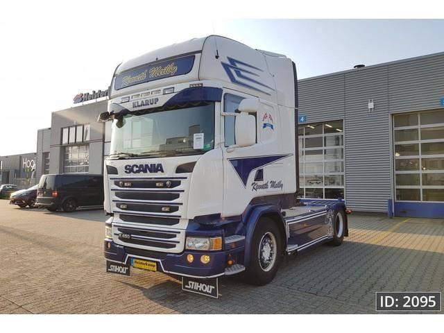 Scania R450 Topline, Euro 6, Intarder - 2015