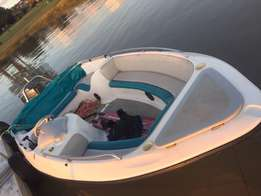 17' Escape V6 150 mariner