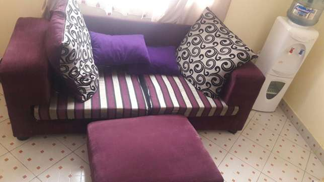 Classic sofa with a pouf. South B - image 2