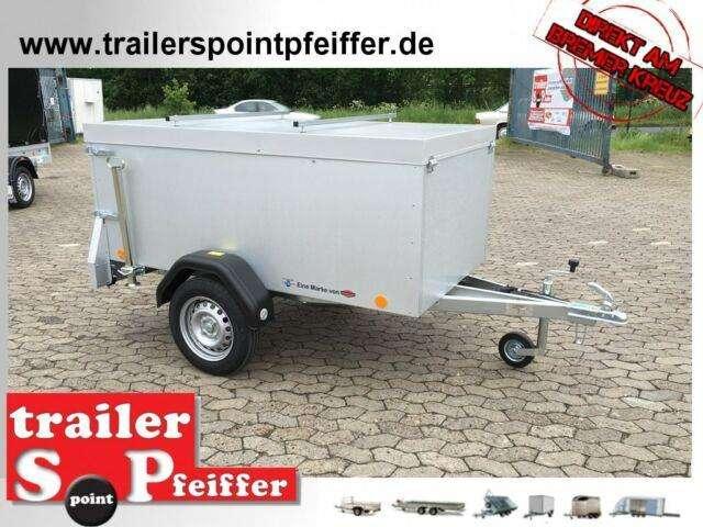Tpv Trailers Kt Eu2 Kofferanhänger Deckel 750 Kg 100 Km/h