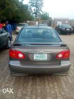 Four months used Toyota Corolla Sport