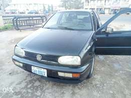 Neatly used Golf 3 Saloon with AC etc