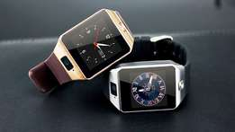 DZ09 Bluetooth Smartwatch With Camera Silver & Gold