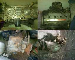 Toyota Corrolla 16V Twin Cam. Engine,Engine Spares and Gearbox