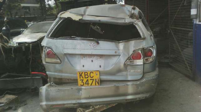Salvage Toyota harrier Industrial Area - image 8