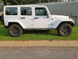 2013 Jeep Wrangler 2.8 crd AT Sahara Unlimited FSH Immaculate