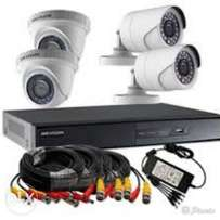 4Channel complete CCTV kits