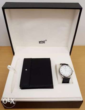 Montblanc Automatic Watch Set with Wallet