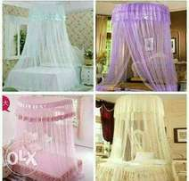 Double decker mosquito nets round