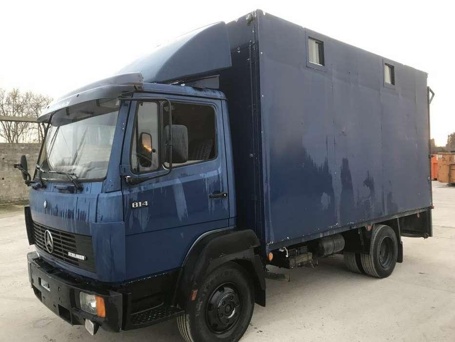 Mercedes-Benz 814 **6cyl.-steel-belgium Truck** - 1991