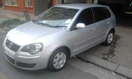 Vw polo 1.6 silver in color 2006 model 94000km R78000 hatshback