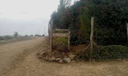 A 1/4 acre land along the masai lodge road