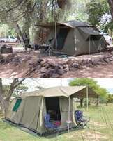 Campmor Canvas tent with extension