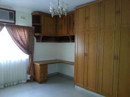 Immaculate semi furnished 2 Bedroom home with single garage