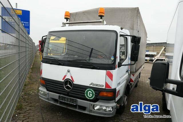 Mercedes-Benz 815 Atego, AHK, 3. Sitz, 5.2 m lang! - 2001