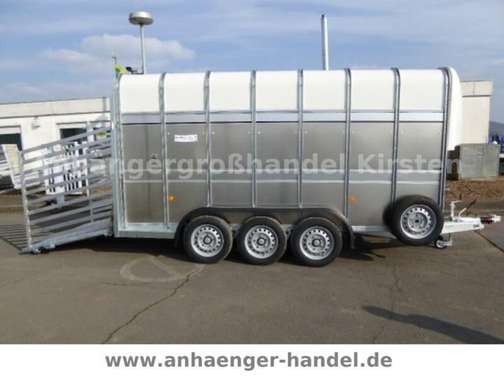 Ifor Williams TA510 VIEH 3 Achser 427x178x214cm Rampe/Tür - 2019