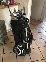 Taylormade R540 XD irons , putter, 3 wood etc and Taylormade Golf bag
