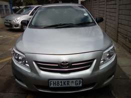 Lady used 2008 Toyota Professional 1.4 in an excellent condition