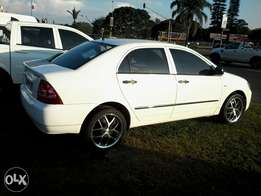 Toyota corolla 2004 with air-con ,1.4i