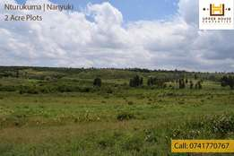 2 Acre Land in Nanyuki - (Nturukuma)