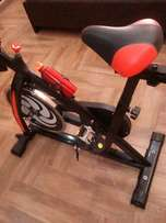 1 month used spinning bike