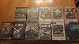 Pc games( you can buy individually )