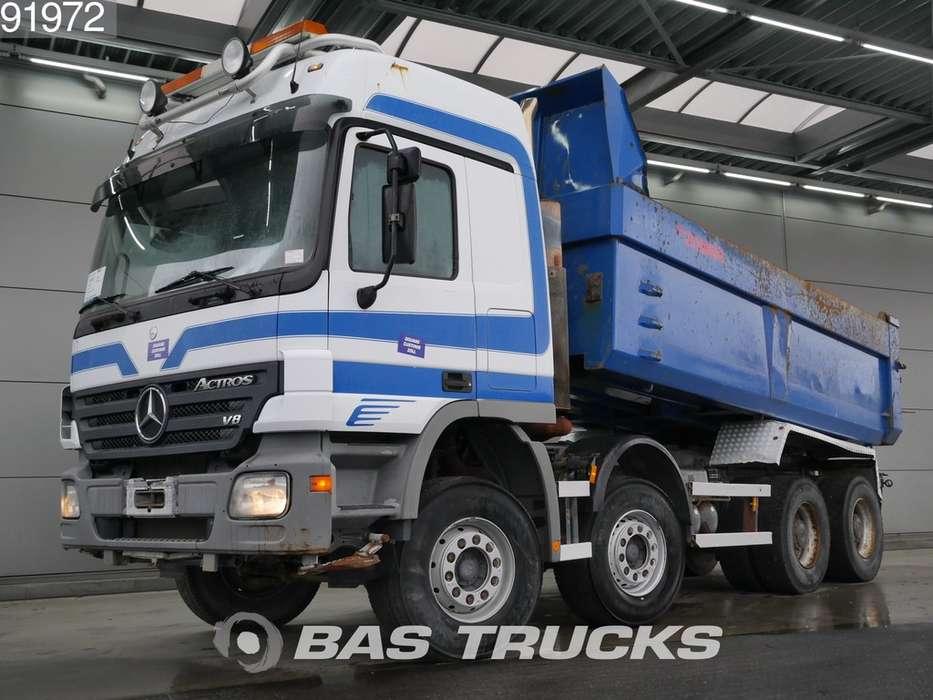 Mercedes-Benz Actros 4150 K 8X4 Big-Axle Steelsuspension Euro 3 V8 - 2006