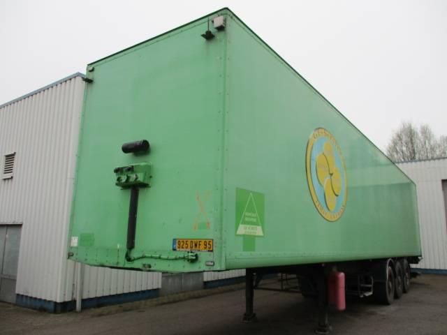 Samro 3 Axle Box trailer , Disc brakes , ST 39MH - 2005