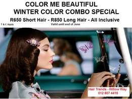 Color Me Beautiful Winter Color Combo Special !!